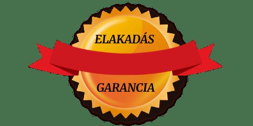 elakadás garancia